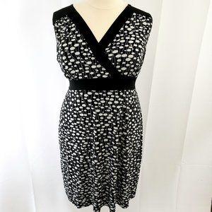 Lane Bryant Sleeveless Faux Wrap Midi Dress 22/24